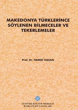 Makedonya Türklerince Söylenen Bilmeceler ve Tekerlemeler, 1994