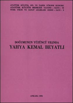 Doğumunun Yüzüncü Yılında Yahya Kemal Beyatlı, 1994