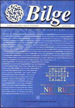 Bilge Dergisi 28, 2001