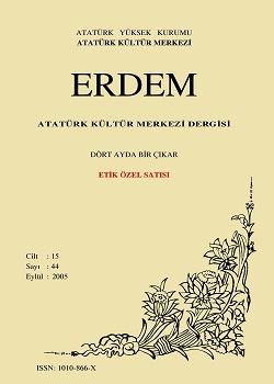 Erdem Dergisi (Etik Özel Sayısı), 2005