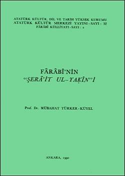 """Fârâbî`nin """"Şerâ'it ul -Yakîn""""i, 1990"""