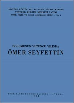 Doğumunun Yüzüncü Yılında Ömer Seyfettin, 1992