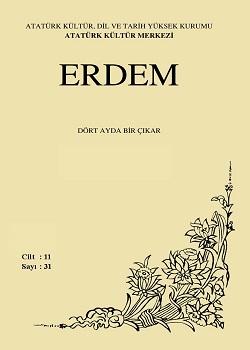 Erdem Dergisi 31- Atatürk'ü Kavramak Cumhuriyet Özel Sayısı - I, 1999
