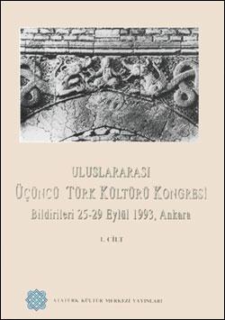 Uluslararası 3. Türk Kültürü Kongresi Bildirileri, 0