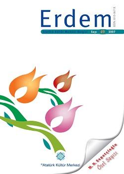 Erdem Dergisi Mustafa Necati Sepetçioğlu Özel Sayısı, 2007