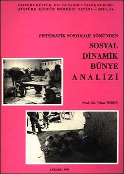 Sistematik Sosyoloji Yönünden Sosyal Dinamik Bünye Analizi, 1991