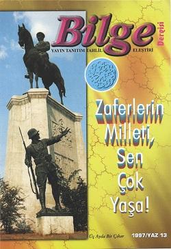 Bilge Dergisi 13, 1997