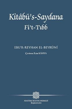 Kitâbü's-saydana fi't-tıb / Ebu'r-Reyhan el Beyrunî, 2019